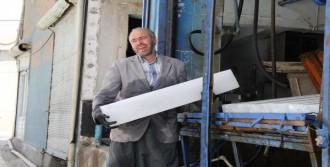 Şanlıurfa'da Kalıp Buz Satışı Arttı