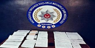 Şanlıurfa'da Sahte Fatura Operasyonu