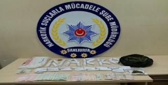 Şanlıurfa'da, Uyuşturucuya 4 Gözaltı