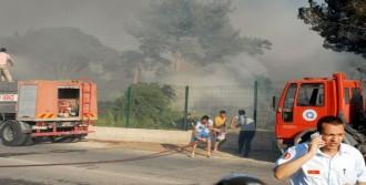 Yangın Golf Sahasına Sıçradı