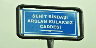 Şehit Binbaşının Adı Caddeye Verildi