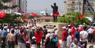 Şehit Ömer Halisdemir'in Heykeli Törenle Açıldı