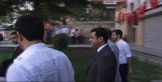 Selahattin Demirtaş'a Protesto