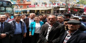 Erzurum'da CHP Adayı Gonca Aytaş'a Destek
