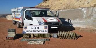 Siirt'te PKK'nın Roketatarları Ele Geçti