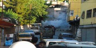 Siirt'te Suruç Saldırısını Protesto Gösterisinde Olaylar Çıktı