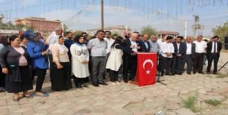Silopi'de Terör Saldırıları Protesto Edildi