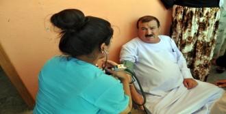 Silopi'deki Ezidilere Sağlık Taraması