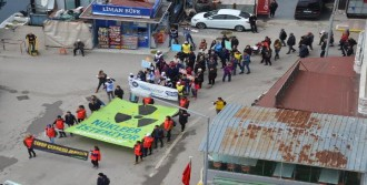 Sinop'ta Nükleer Santral Protestosu