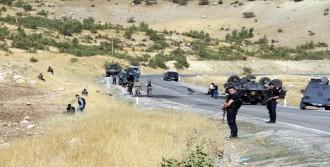 Şırnak'ta Zırhlı Araç Devrildi