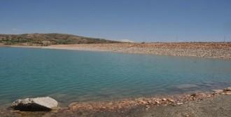 Sivas 4 Eylül Barajında Su Seviyesi Düştü