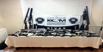 3 İlde Silah Kaçakçılığı Operasyonu: 16 Gözaltı