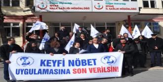 Sivas'ta Aile Hekimleri İş Bıraktı