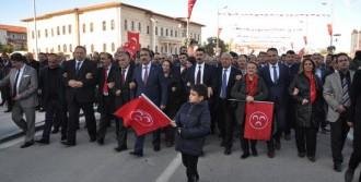 Sivas'ta Cumhuriyet İçin Yürüdüler