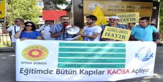 Sivas'ta Eğitimcilerden 'Rotasyon' Tepkisi