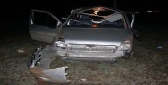 Siverek'te Araç Devrildi: 1 Ölü, 4 Yaralı