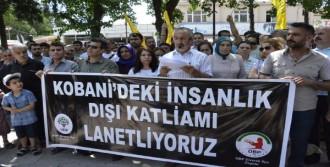 Siverek'te Kobani Protestosu