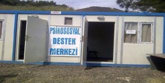 Soma'da Madencilere Psikolojik Destek Sürüyor