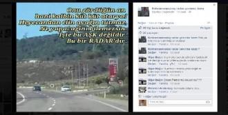 Sosyal Medyadan 'Radar' Paylaşımı