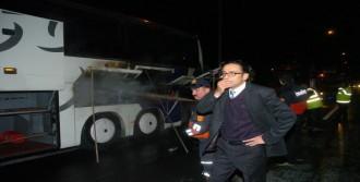 Otobüs Biranda Yandı