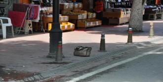 Şüpheli Çantayı Görüntüleme Merakı
