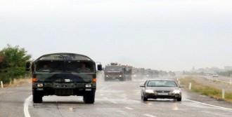 Suriye Sınırındaki Kilis'e Zırhlı Araç Sevkiyatı