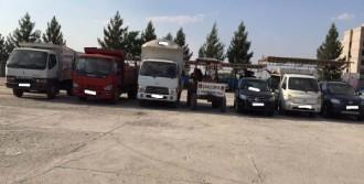 Kaçırılmak İstenen 7 Araç Ele Geçirildi, 5 Gözaltı