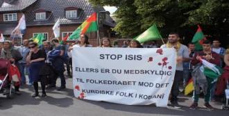Suruç'taki Patlama Danimarka'da Protesto Edildi
