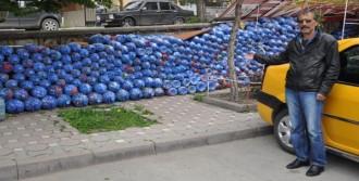 5 Ton Mavi Kapak Topladılar