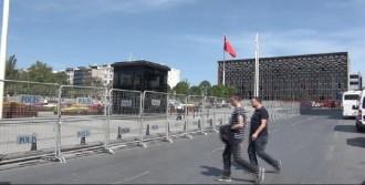Taksim, Bariyerlerle Kapatıldı
