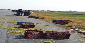 Kamyonet Devrildi: 1 Ölü, 6 Yaralı