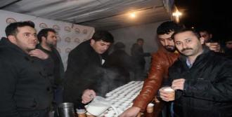 Tarım Müdürlüğü, Mevlit Kandilinde Süt Dağıttı