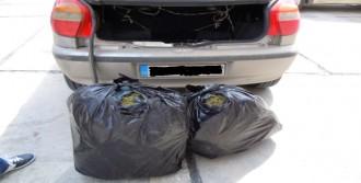 Tarsus'ta 20 Kilo Esrar Ele Geçirildi