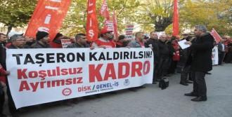 Taşeron İşçilerin Kadro Eylemi
