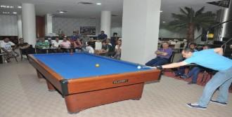 Tatvan'da Bilardo Turnuvası Düzenlendi