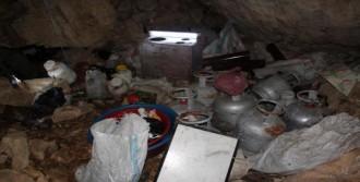 Bitlis'te PKK'lıların Mağarası Bulundu
