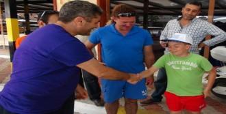 Tedavi Edilen Caretta, Tekrar Denizle Buluştu