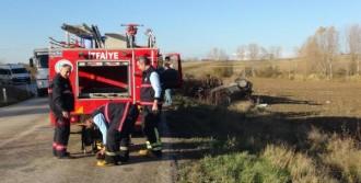 Tekirdağ'da Kamyonla, Otomobil Çarpıştı: 2 Ölü