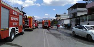 Yangın Maddi Zarara Yol Açtı
