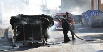 Tekstil Fabrikasında Korkutan Yangın