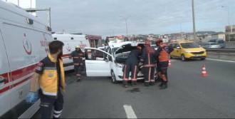 TEM'de Trafik Kazası