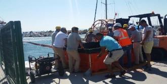 Teos Marina'da Yakıt Temizleme Tatbikatı