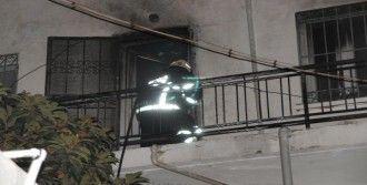 Teras Katında Yangın Çıktı
