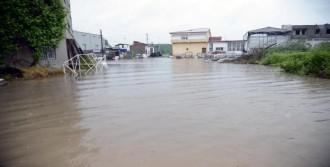 Terme'de Yağmur Hayatı Felç Etti