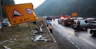 Tır Kazası TEM Otoyolu'nu Kapattı