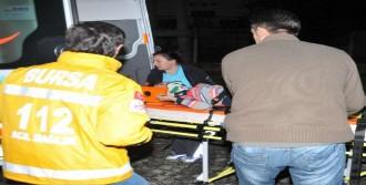 Tır'a Çarpan Sürücü Olay Yerinde Öldü