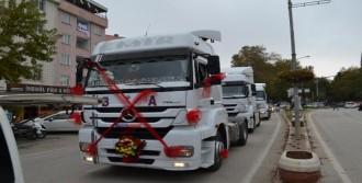 TIR'ı Gelin Arabası Yaptı, Trafik Cezası Yedi