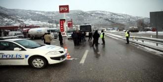 Tokat-Sivas Karayolu Ulaşıma Kapandı