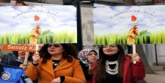 Tokat'ta Kadına Yönelik Şiddete 'Dur' Dediler