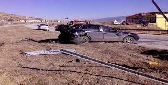 Tosya'da 2 Kaza, 3 Yaralı!